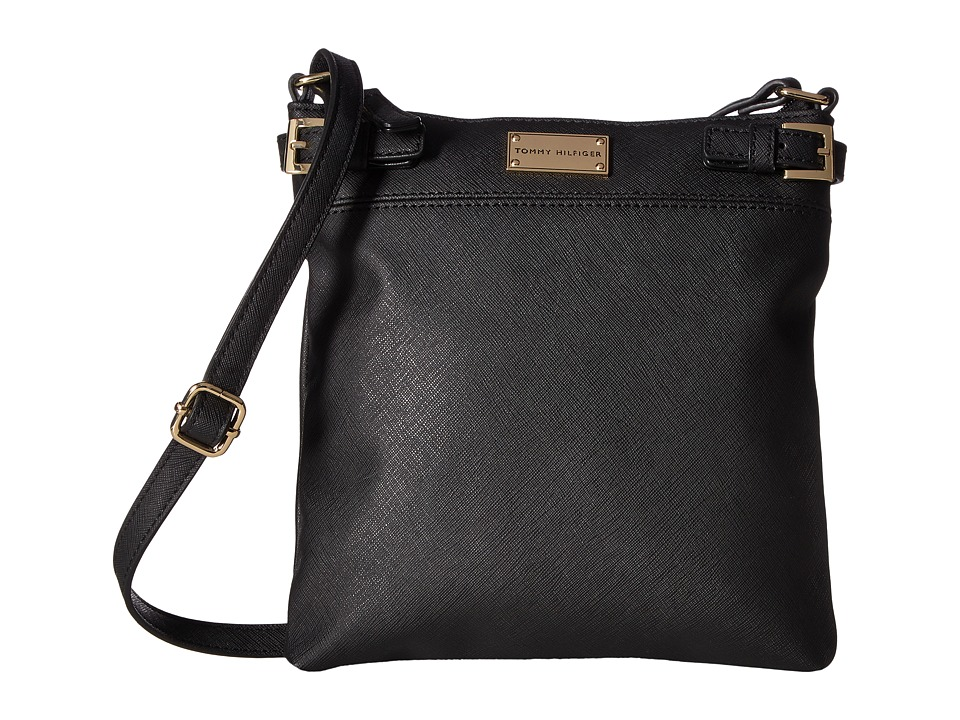 Tommy Hilfiger - Parker II North/South Crossbody (Black) Cross Body Handbags