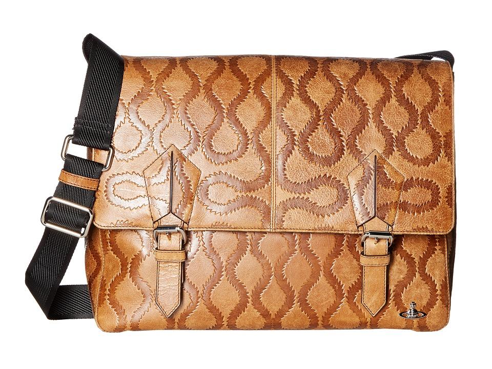 Vivienne Westwood - Belfast Messenger Bag (Brown) Messenger Bags