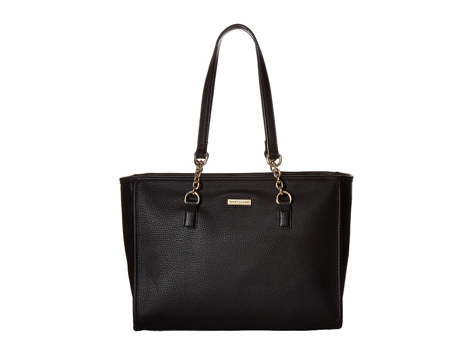 Tommy Hilfiger - Emilia II Shopper (Black) Handbags