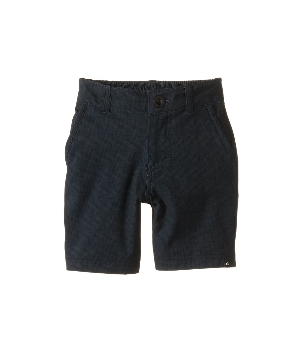 Quiksilver Kids - Neolithic Amphibian Walkshorts (Toddler/Little Kids) (Neolithic Black) Boy's Shorts