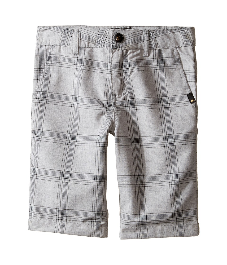 Quiksilver Kids - Regeneration Walkshorts (Toddler/Little Kids) (Light Grey Heather) Boy's Shorts