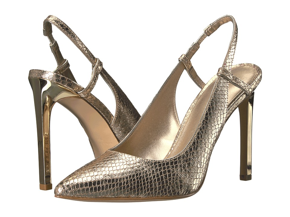 Nine West - Tarly (Gold/Light Gold Metallic) Women's Shoes