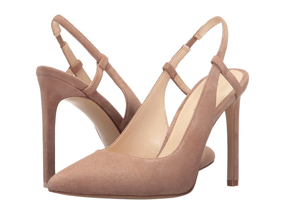 Nine West - Tarly (Natural Suede) Women's Shoes