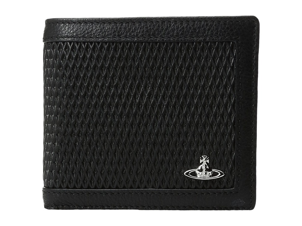Vivienne Westwood - Wallet w/ Coin Holder (Black) Wallet Handbags