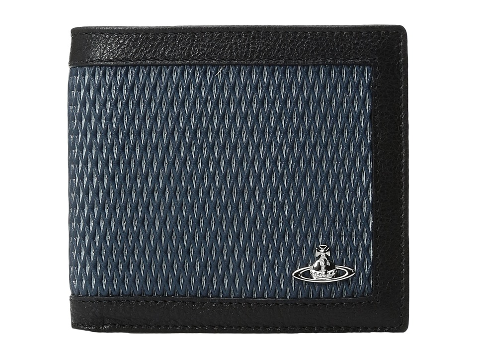 Vivienne Westwood - Wallet w/ Coin Holder (Blue) Wallet Handbags