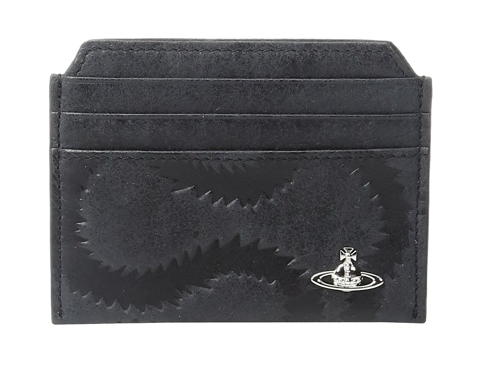 Vivienne Westwood - Credit Card Holder (Black) Credit card Wallet