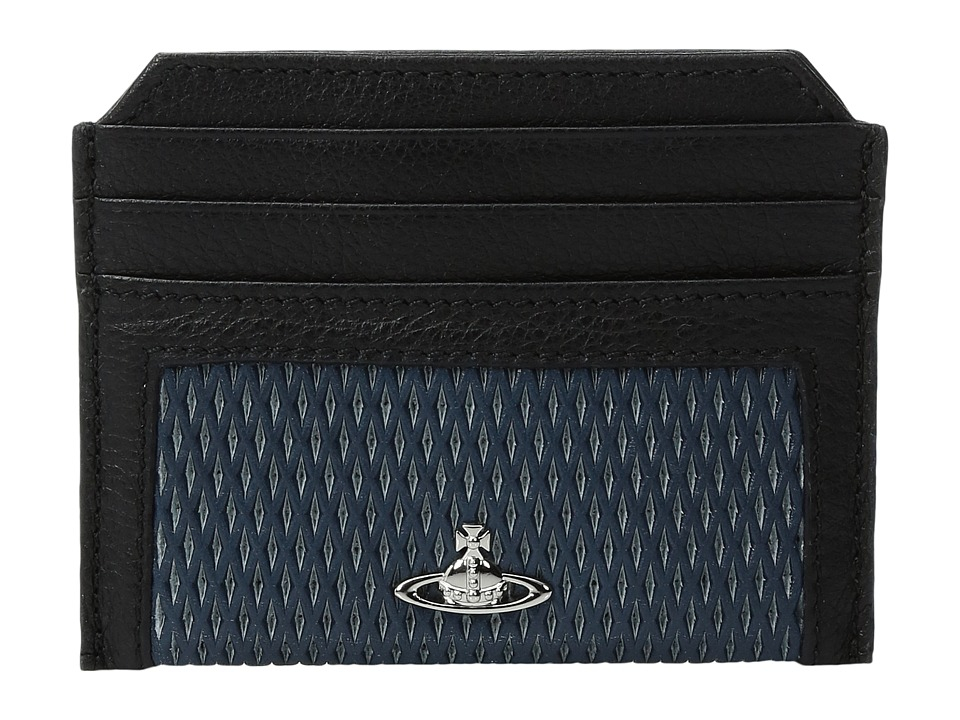 Vivienne Westwood - Credit Card Holder (Blue) Credit card Wallet