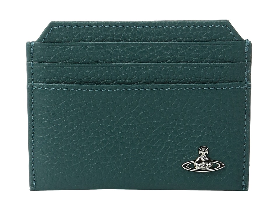 Vivienne Westwood - Credit Card Holder (Green) Credit card Wallet