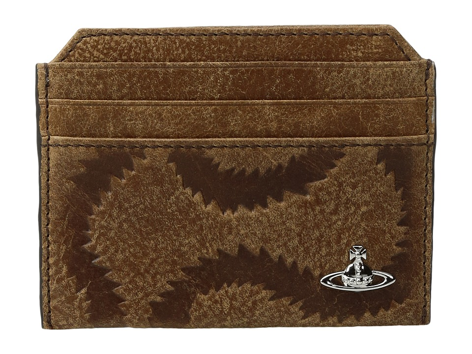 Vivienne Westwood - Credit Card Holder (Brown) Credit card Wallet
