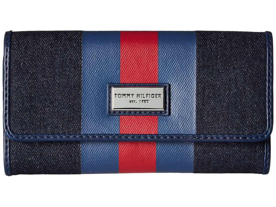 Tommy Hilfiger - Prep Club Wallet Cont Wallet (Denim) Wallet Handbags