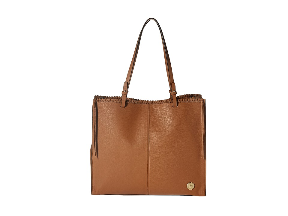 Vince Camuto - Litzy Tote (Chestnut Brown) Tote Handbags