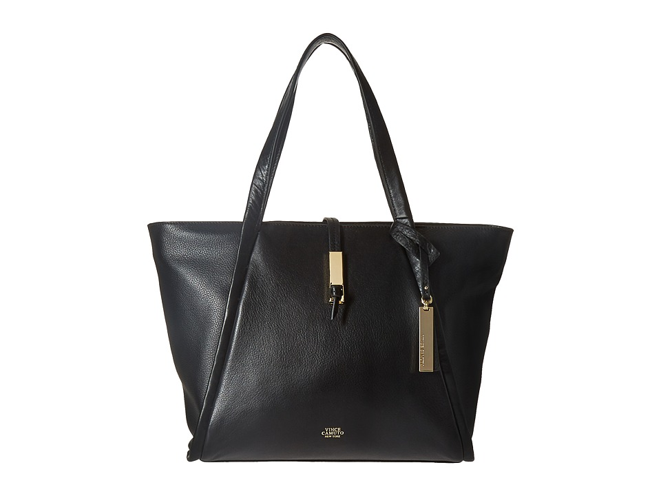 Vince Camuto - Reed Small Tote (Black) Tote Handbags