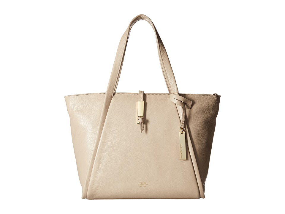 Vince Camuto - Reed Small Tote (Almond Beige) Tote Handbags