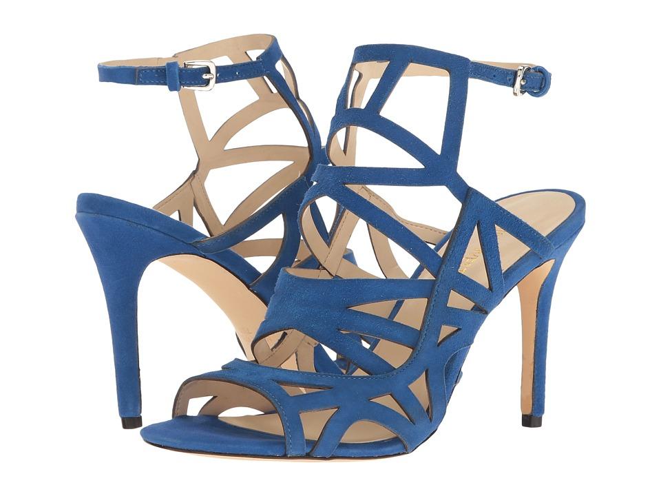 Nine West - Nasira (Blue Suede) Women's Shoes