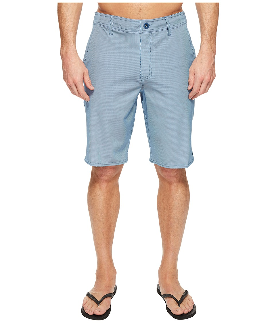 O'Neill - Pinski Hybrid Boardshorts (Blue) Men's Swimwear