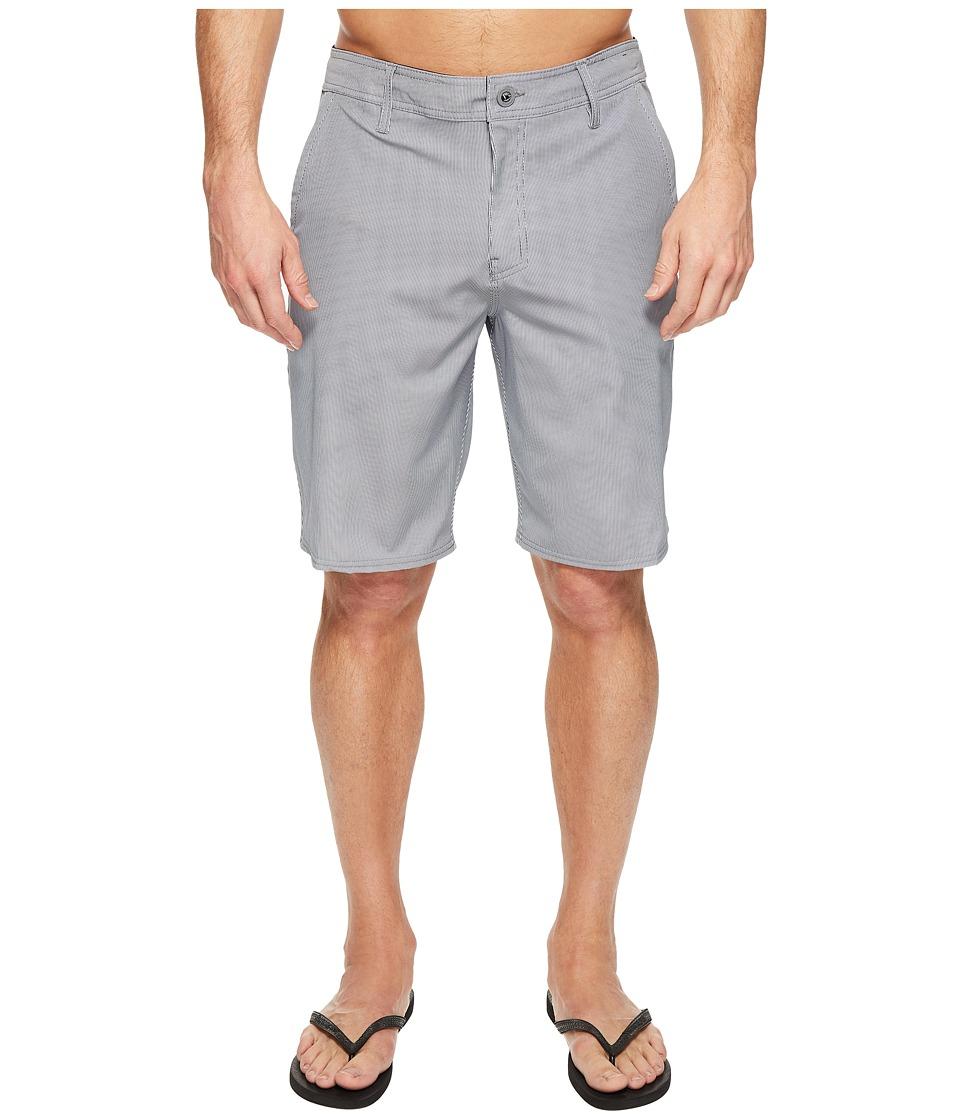 O'Neill - Pinski Hybrid Boardshorts (Grey) Men's Swimwear