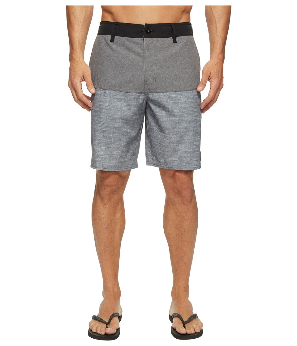 O'Neill - Logan Hybrid Boardshorts (Black) Men's Swimwear