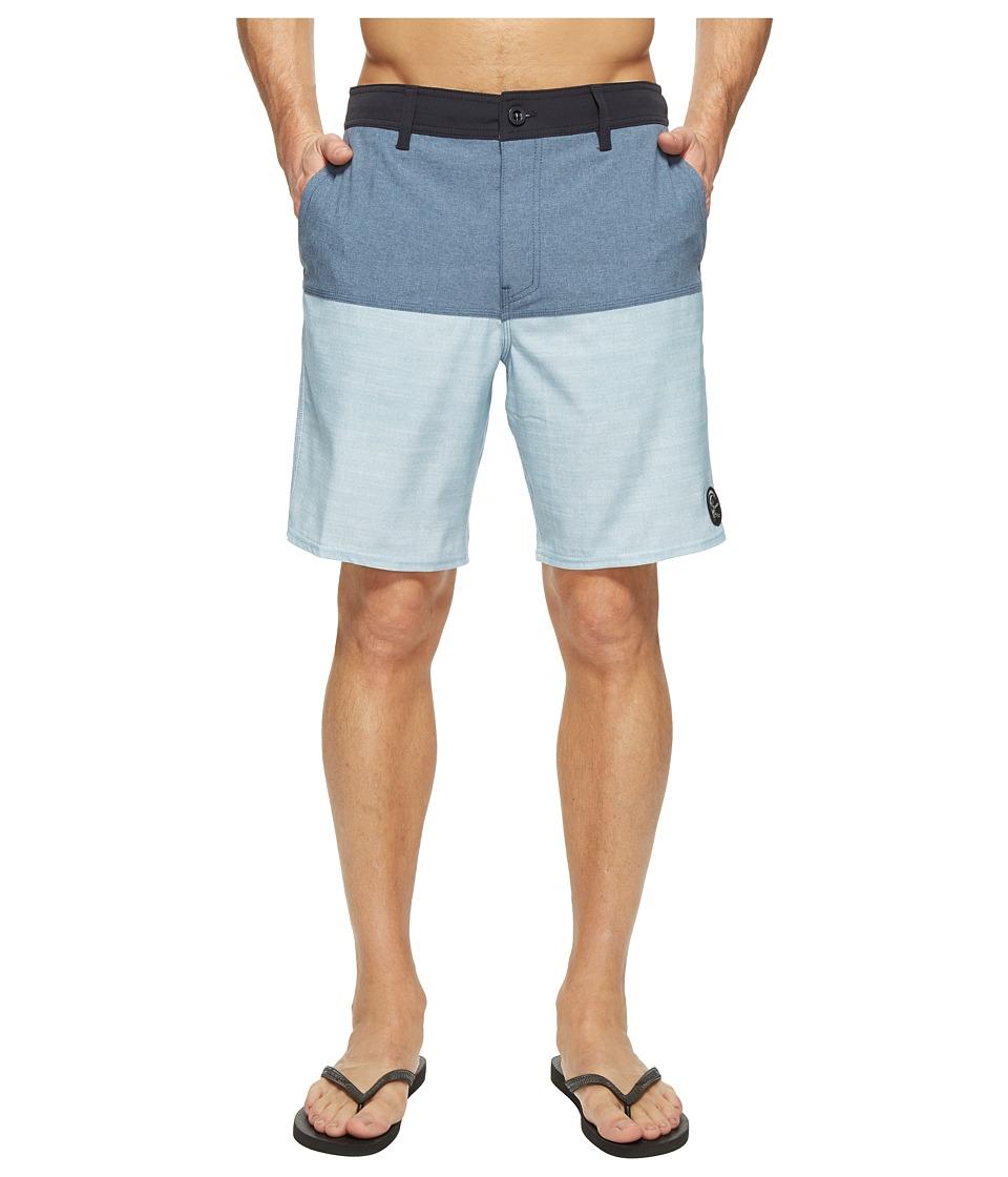 O'Neill - Logan Hybrid Boardshorts (Ocean) Men's Swimwear