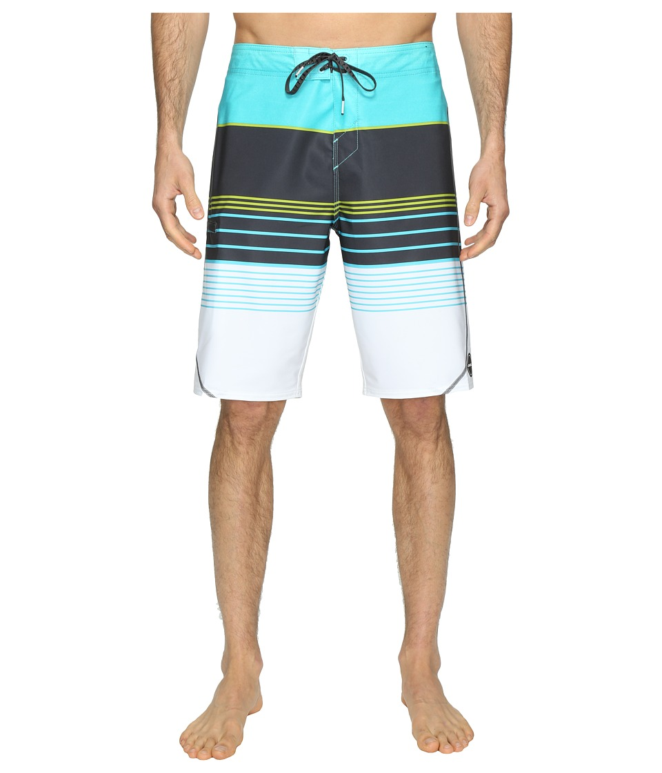 O'Neill - Hyperfreak Transfer S-Seam Superfreak Series Boardshorts (Aqua) Men's Swimwear