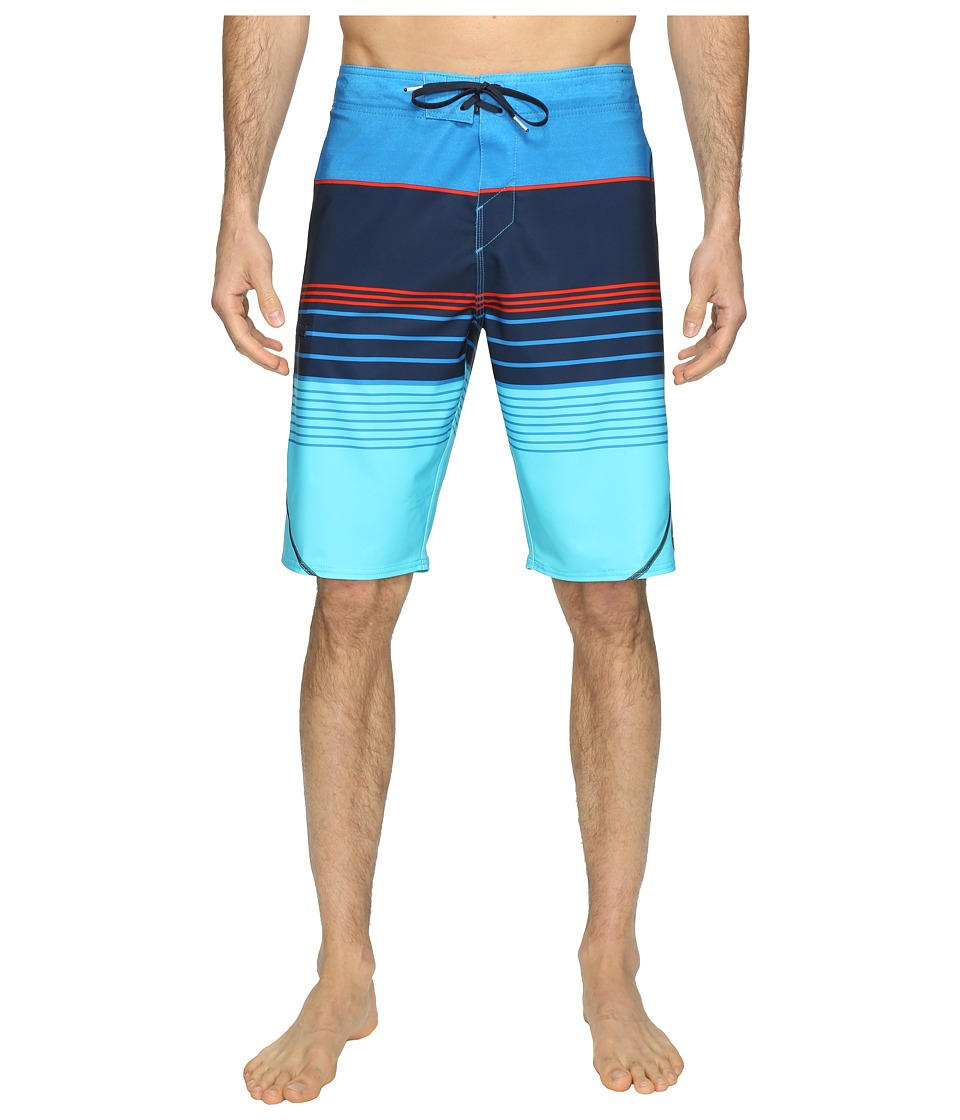 O'Neill - Hyperfreak Transfer S-Seam Superfreak Series Boardshorts (Navy) Men's Swimwear