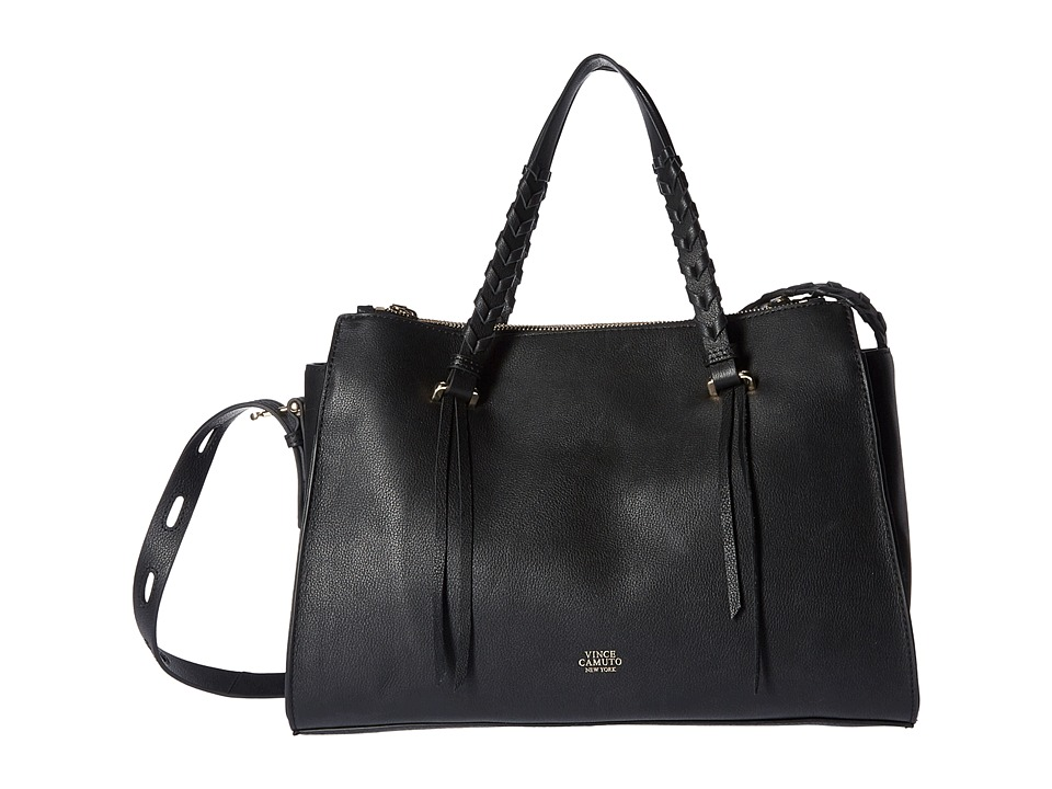 Vince Camuto - Esta Satchel (Black) Satchel Handbags