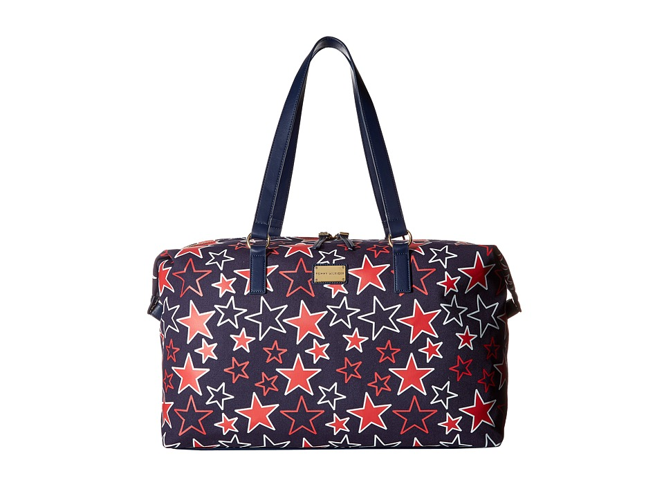 Tommy Hilfiger - Weekender Item II (Navy/Red) Weekender/Overnight Luggage