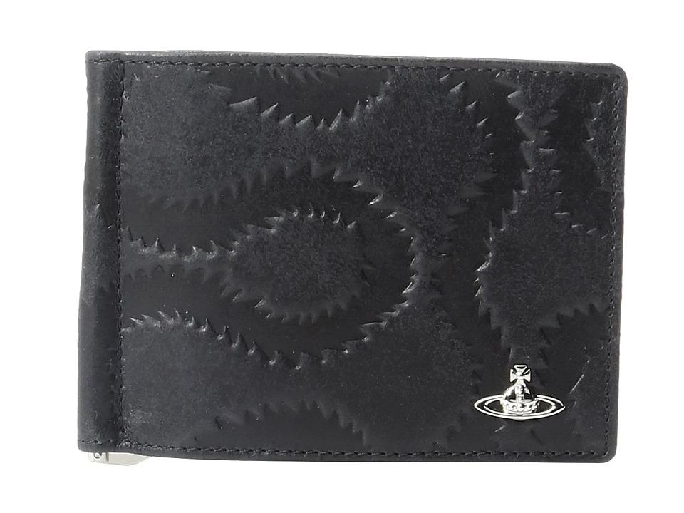 Vivienne Westwood - Belfast Wallet w/ Money Clip (Black) Wallet Handbags