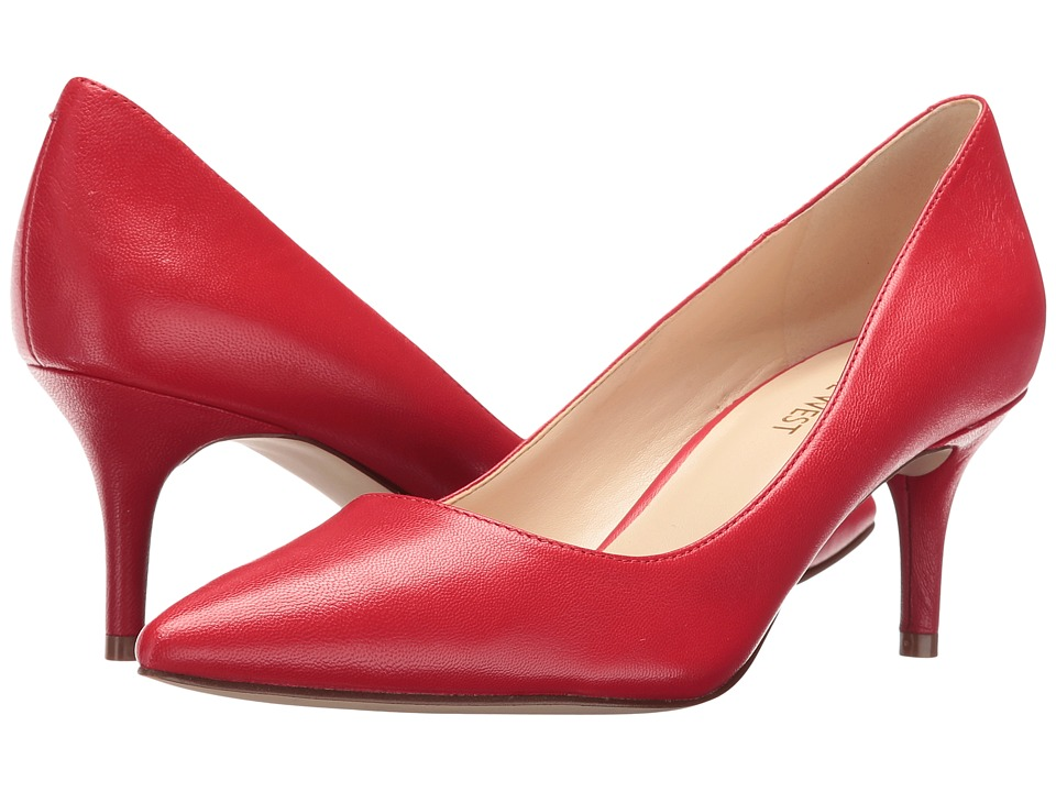 Nine West - Margot (Red Leather 1) High Heels