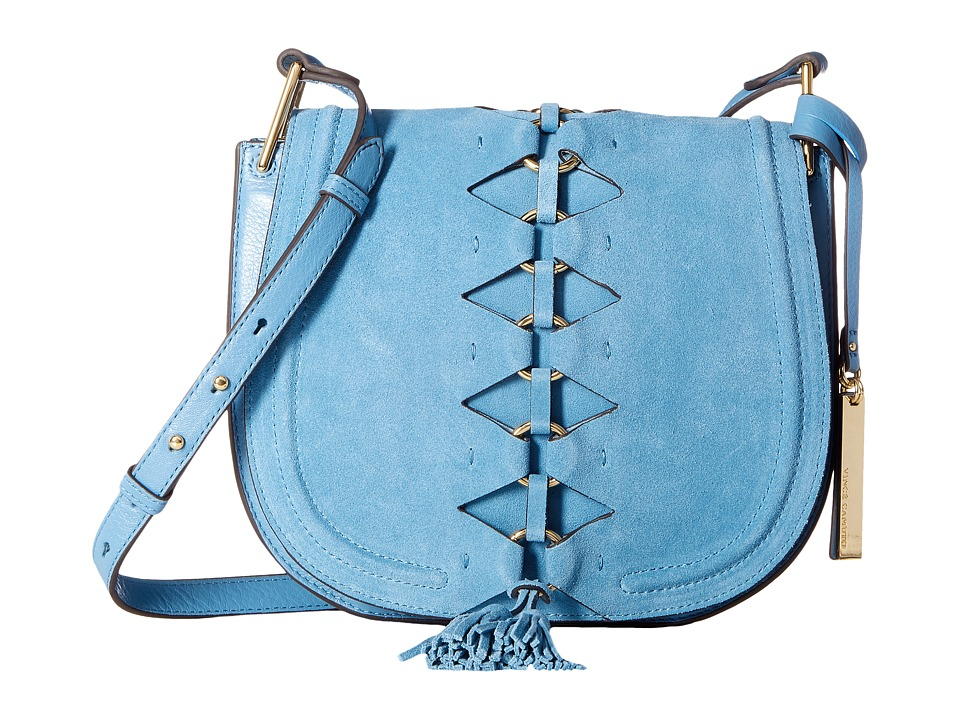 Vince Camuto - Ancel Flap (Blue Heaven) Handbags