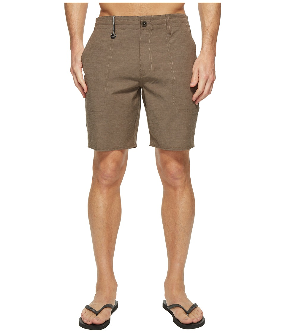 O'Neill - Traveler Scout Boardshorts (Brown) Men's Swimwear