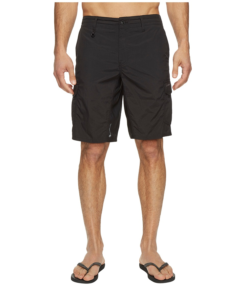 O'Neill - Traveler Cargo Hybrid Shorts (Black) Men's Swimwear