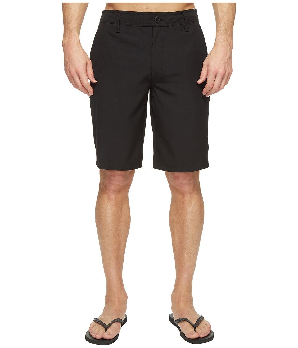 O'Neill - Loaded Solid Hybrid Boardshorts (Black) Men's Swimwear