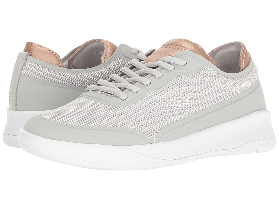Lacoste - LT Spirit Elite 117 2 (Light Grey) Women's Shoes