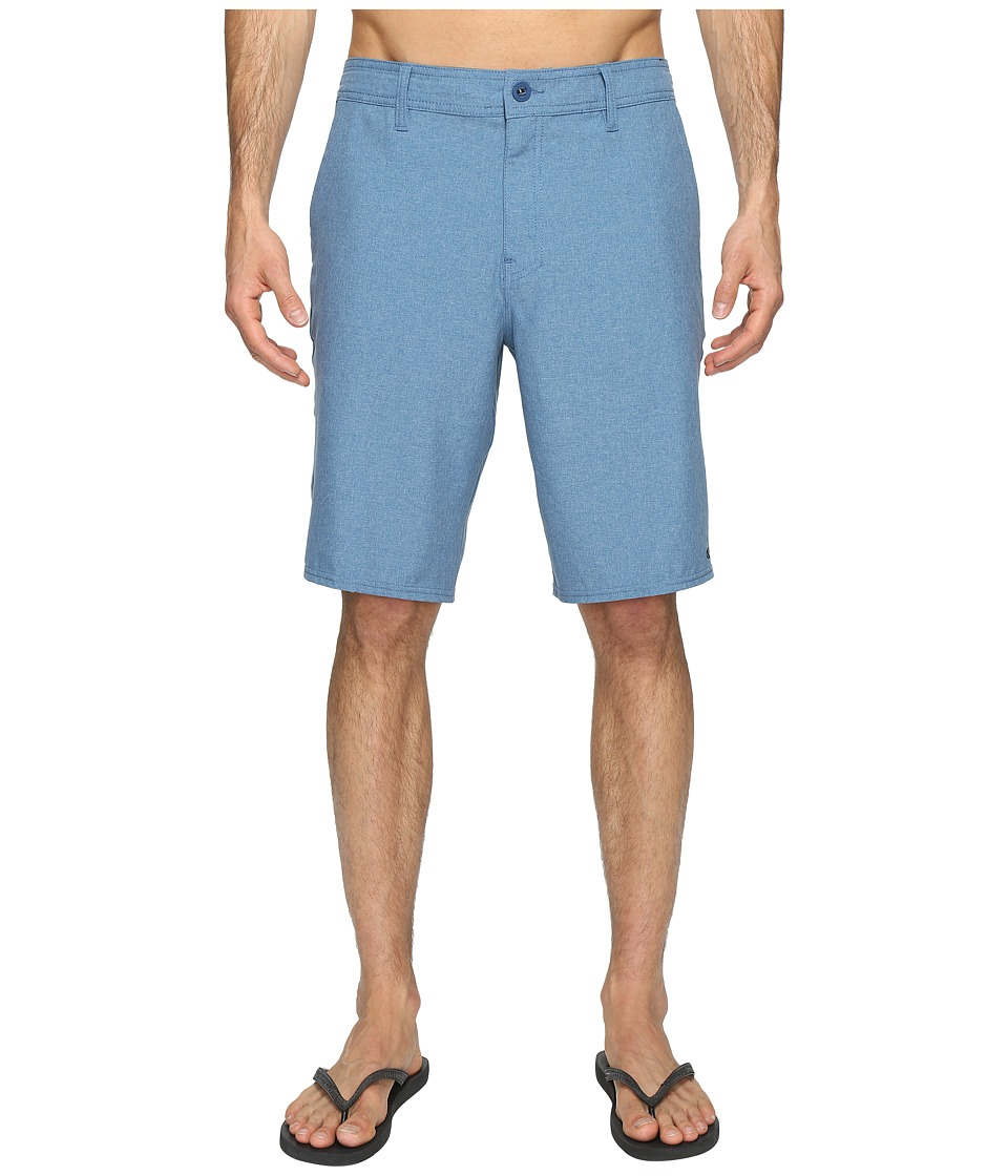 O'Neill - Loaded Heather Hybrid Boardshorts (Heather Blue) Men's Swimwear