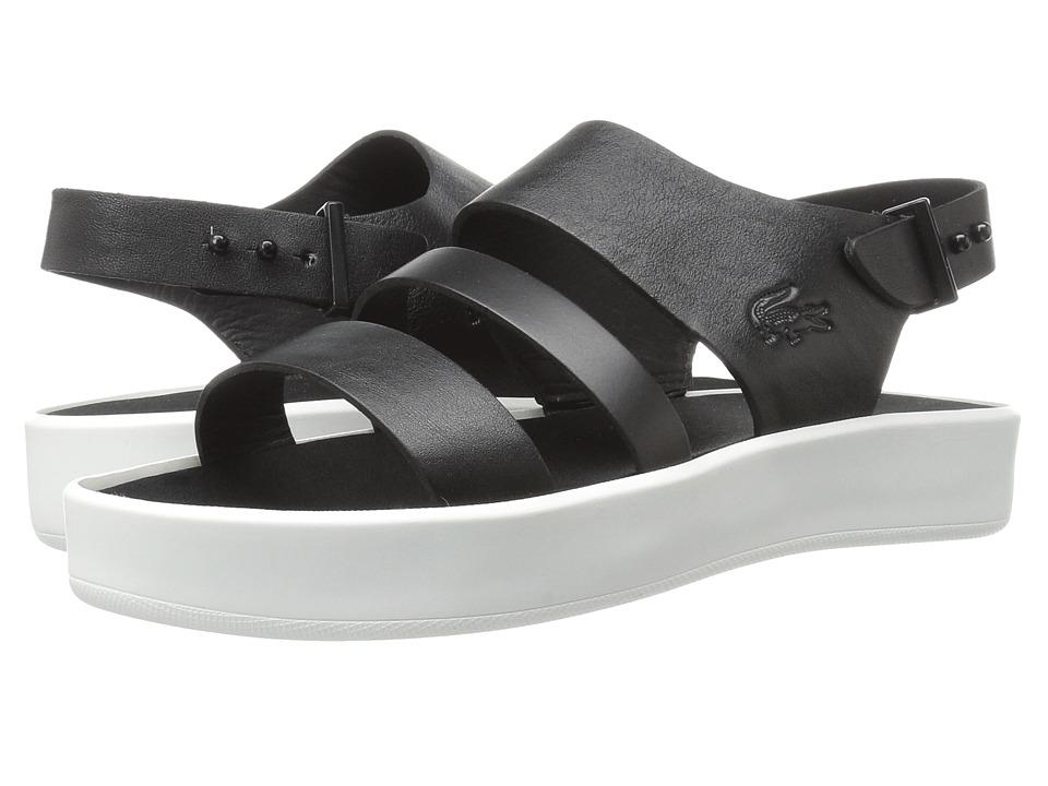 Lacoste - Pirle Sandal 117 1 (Black/Black) Women's Sandals
