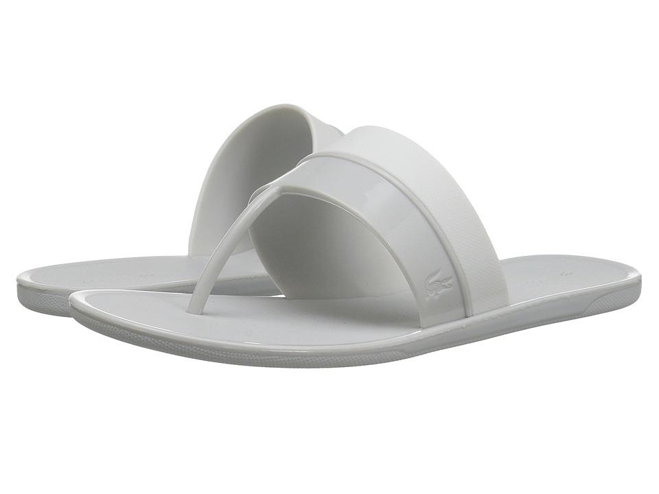 Lacoste - Promenade Ace 117 1 (Light Grey/White) Women's Shoes