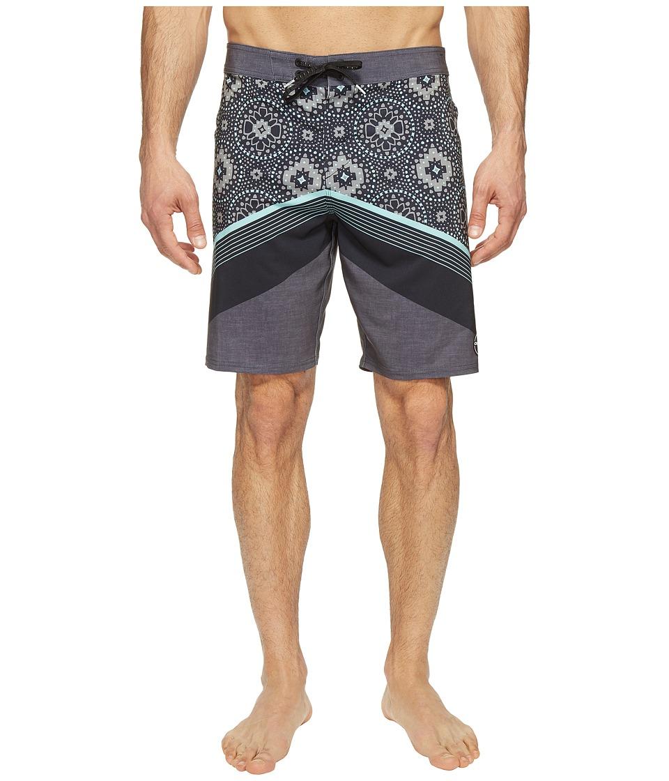 O'Neill - Hyperfreak Abo-Geo Superfreak Series Boardshorts (Black) Men's Swimwear