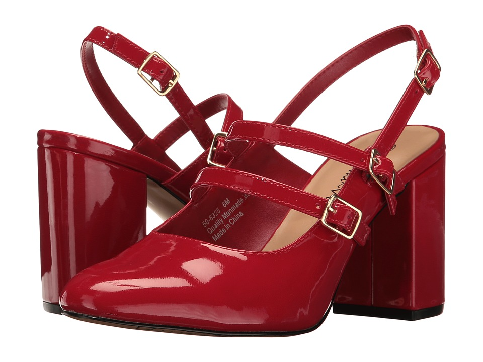 Bella-Vita - Nessa II (Red Patent) High Heels