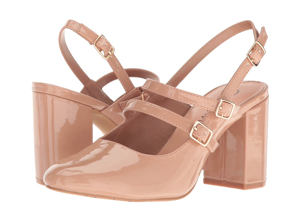 Bella-Vita - Nessa II (Nude Patent) High Heels