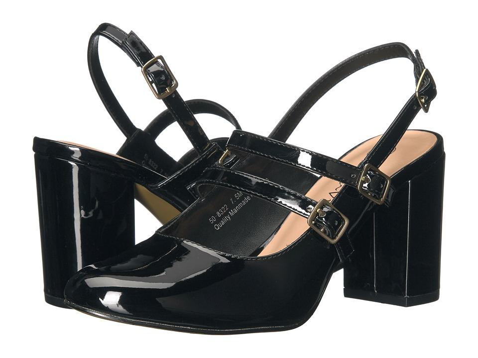 Bella-Vita Nessa II (Black Patent) High Heels