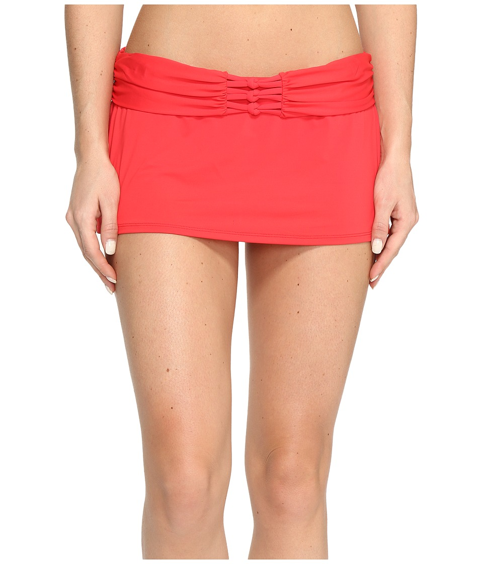 Bleu Rod Beattie Knotty But Nice Skirted Hipster Bottom (Vermillion) Women