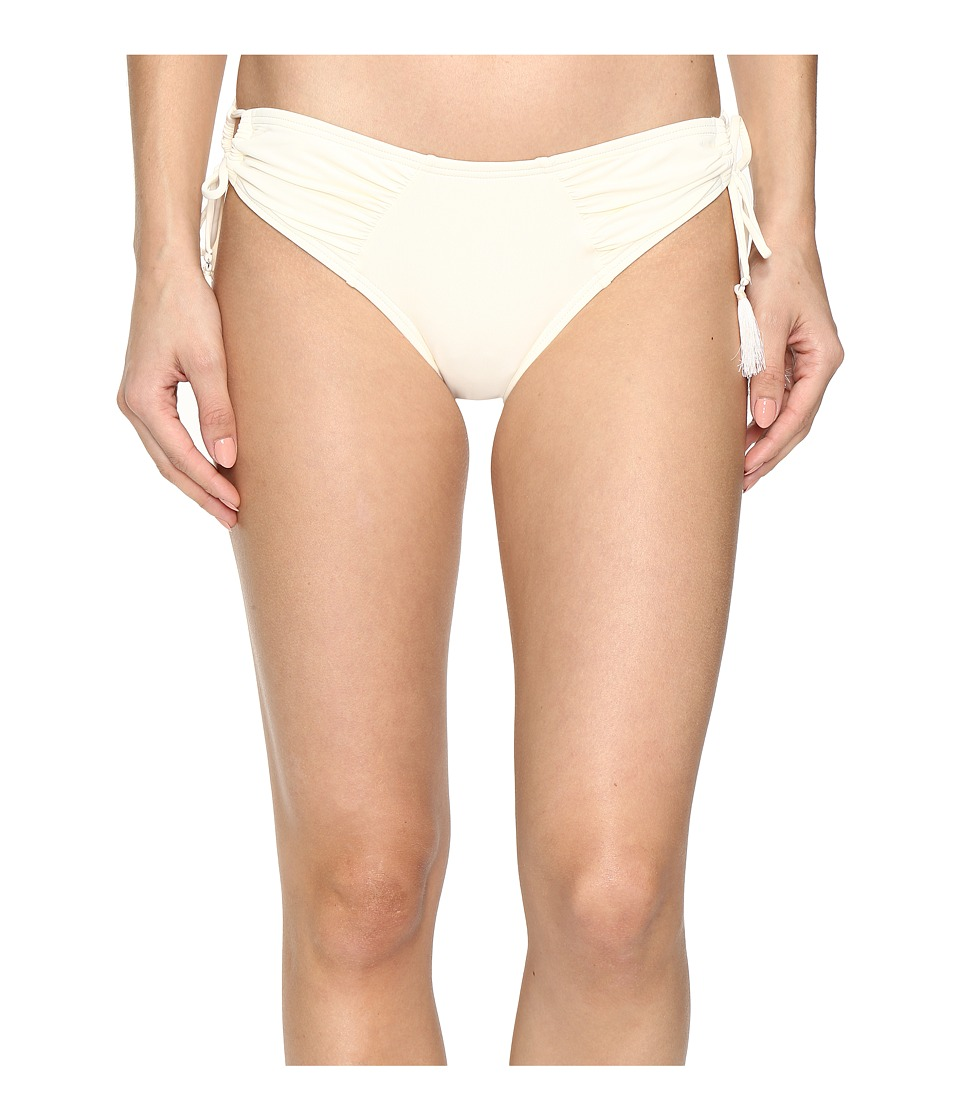 Vince Camuto - Fiji Solids Side Tie Cheeky Bikini Bottom (Shell) Women's Swimwear