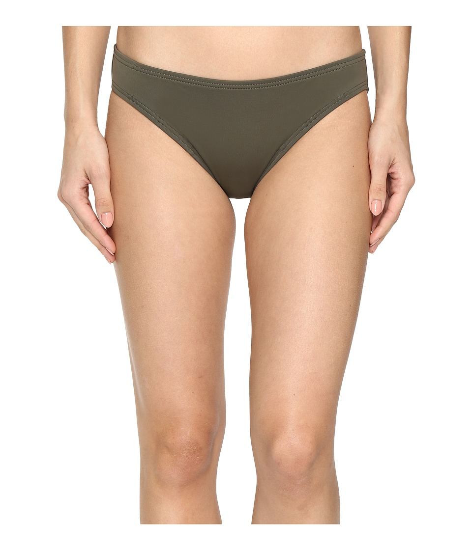 Vince Camuto - Fiji Solids Classic Bikini Bottom (Dark Sage) Women's Swimwear