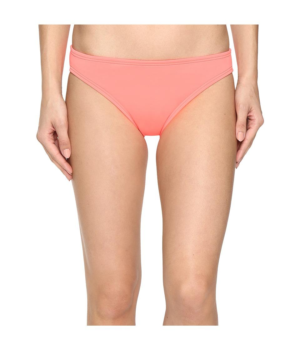 Vince Camuto - Fiji Solids Classic Bikini Bottom (Pop Coral) Women's Swimwear