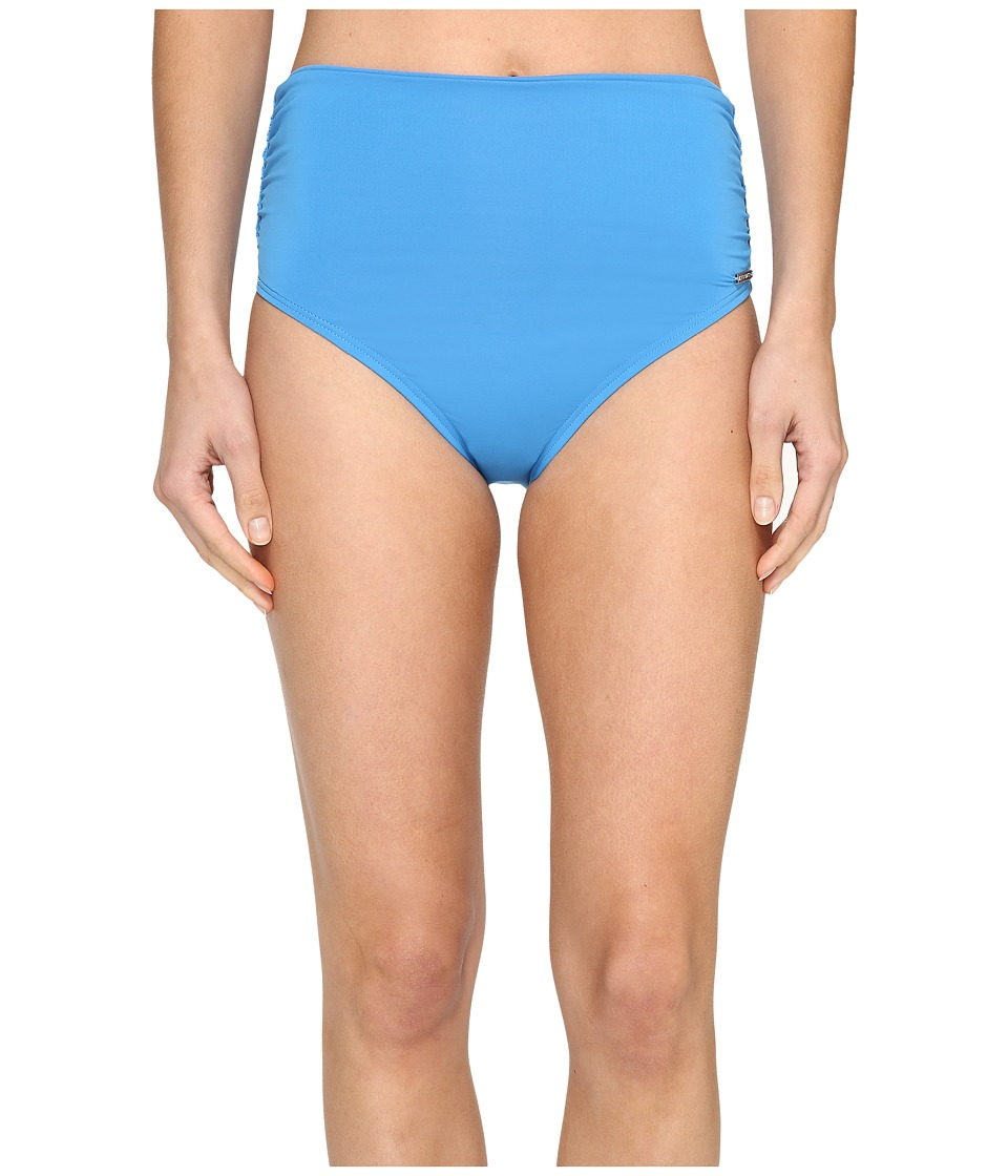 Vince Camuto - Fiji Solids Convertible High Waist Bikini Bottom (Misty Blue) Women's Swimwear