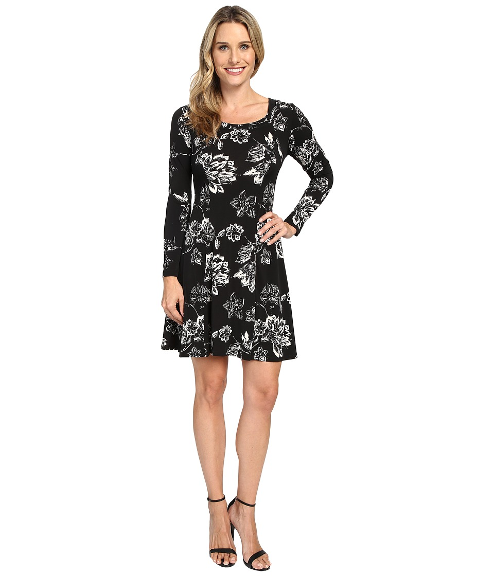 Karen Kane A-Line Dress (Floral) Women