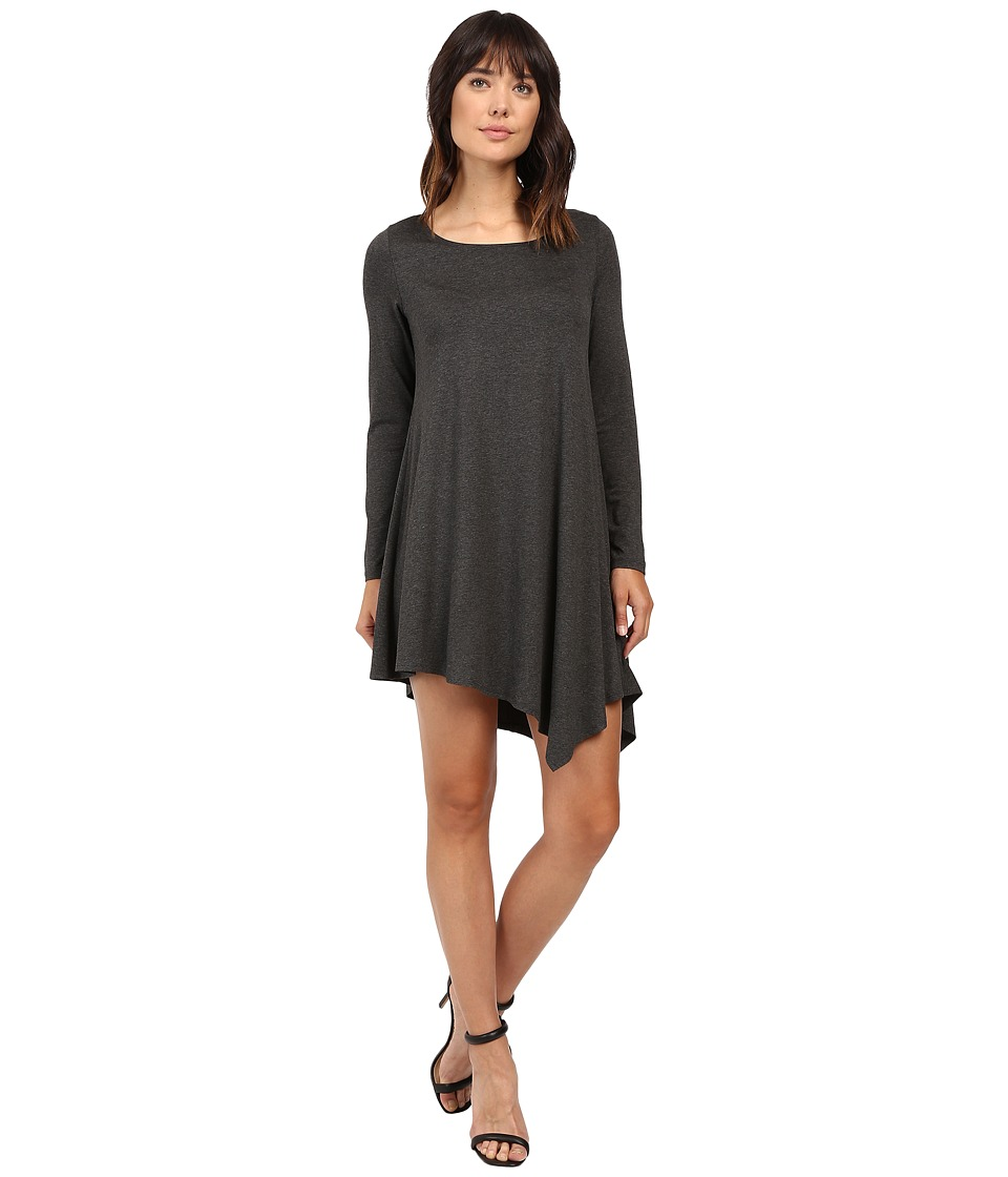 Karen Kane Ellie Dress (Dark Heather Grey) Women