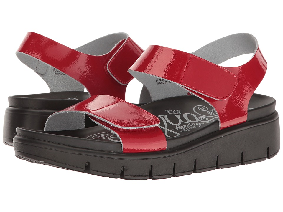 Alegria - Playa (Red Patent) Women's Shoes