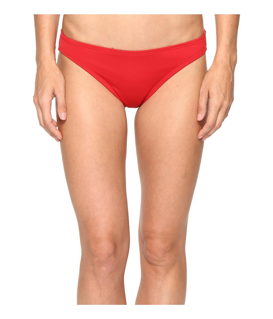 MICHAEL Michael Kors - Villa Del Mar Classic Bikini Bottom (Red Blaze) Women's Swimwear