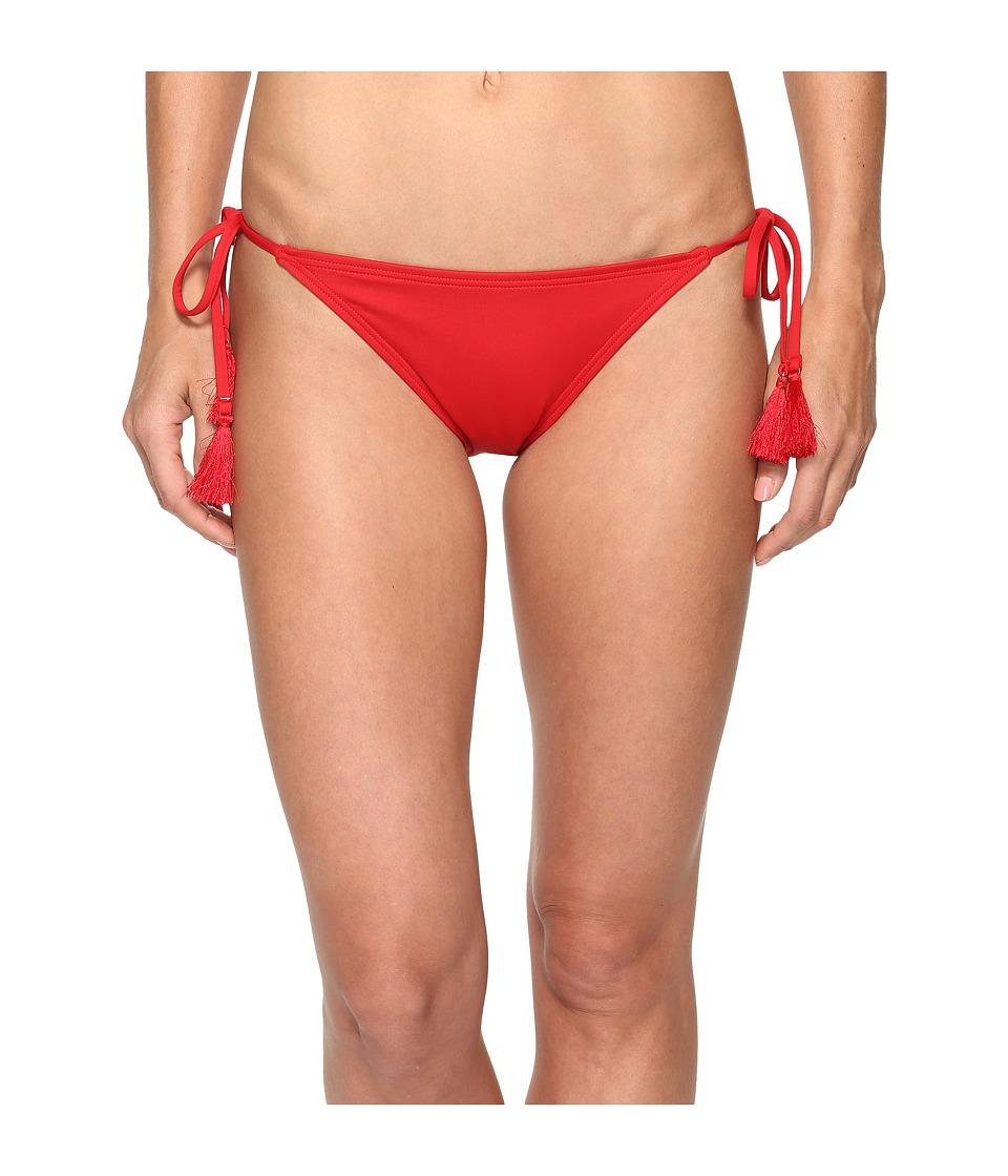 MICHAEL Michael Kors - Villa Del Mar Euro String Bikini Bottom (Red Blaze) Women's Swimwear
